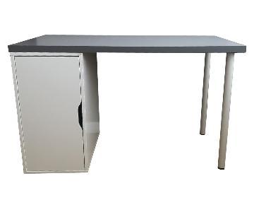 Ikea Desk w/ Storage