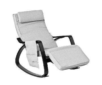 SoBuy Relax Rocking Lounge Chair w/ Adjustable footrest