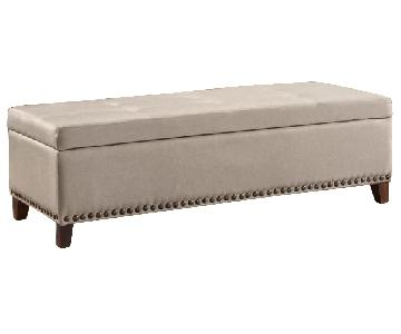 Alcott Hill Bluford Storage Ottoman