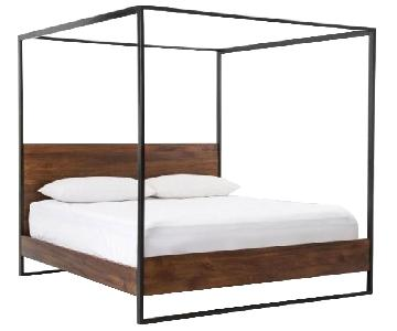 West Elm Rogan Canopy King Bed
