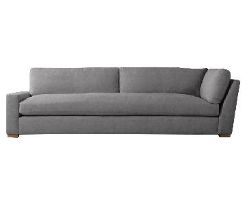 Restoration Hardware Maxwell Left Arm Return Sofa