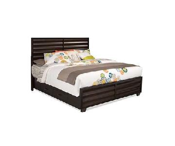 Raymour & Flanigan Concorde Queen Size Bed