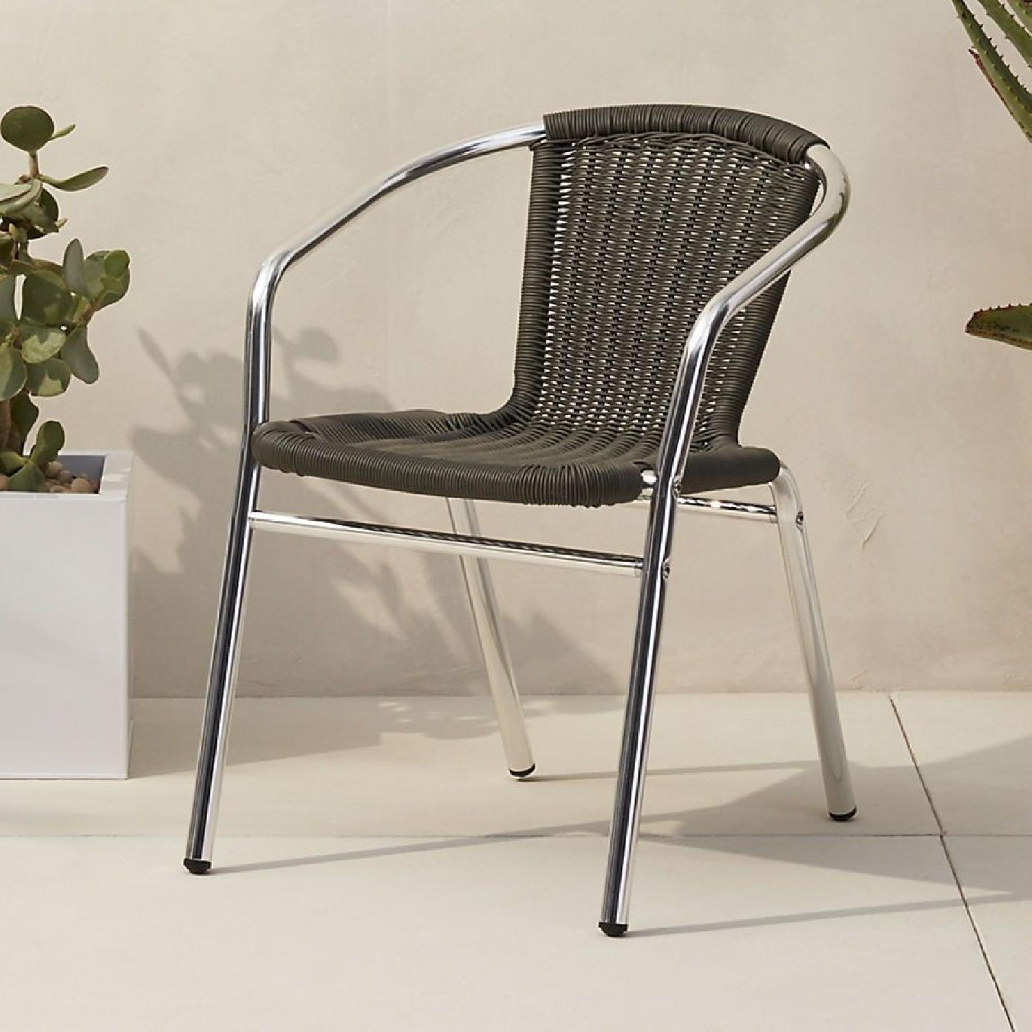 CB2 Stackable Outdoor Dining Chairs-0