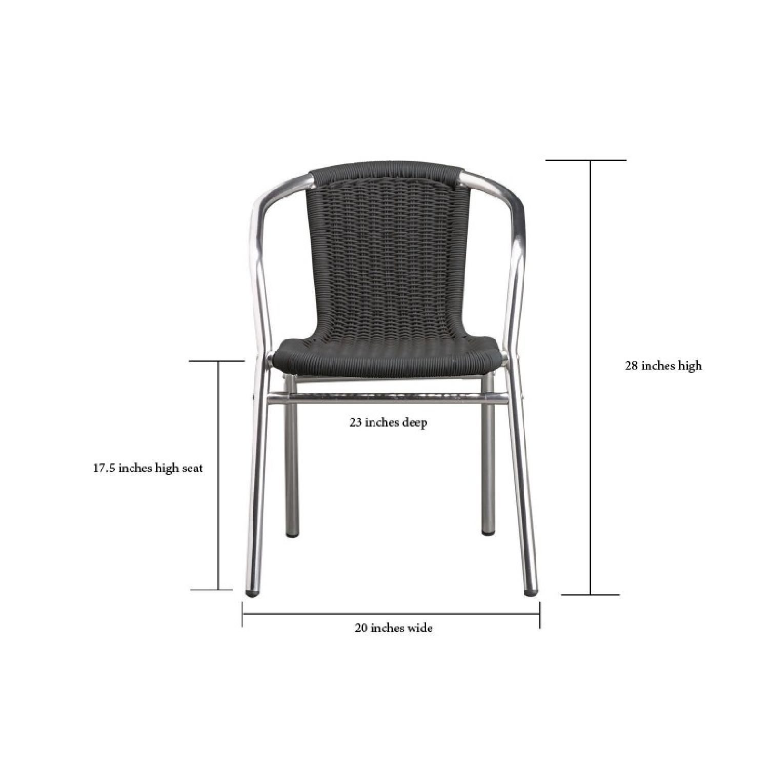 CB2 Stackable Outdoor Dining Chairs-1