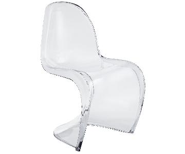 Modway Slither Clear Acrylic Dining Chair