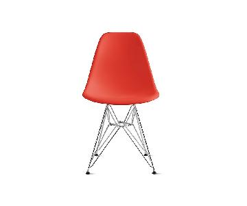 Eames Molded Plastic Wire-Base Side Chair