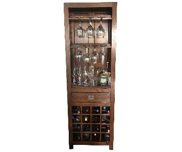Wood Wine/Bar Cabinet