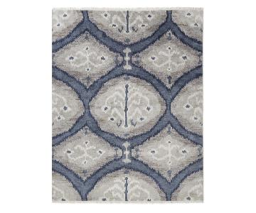 William Sonoma Hand Knotted Rug