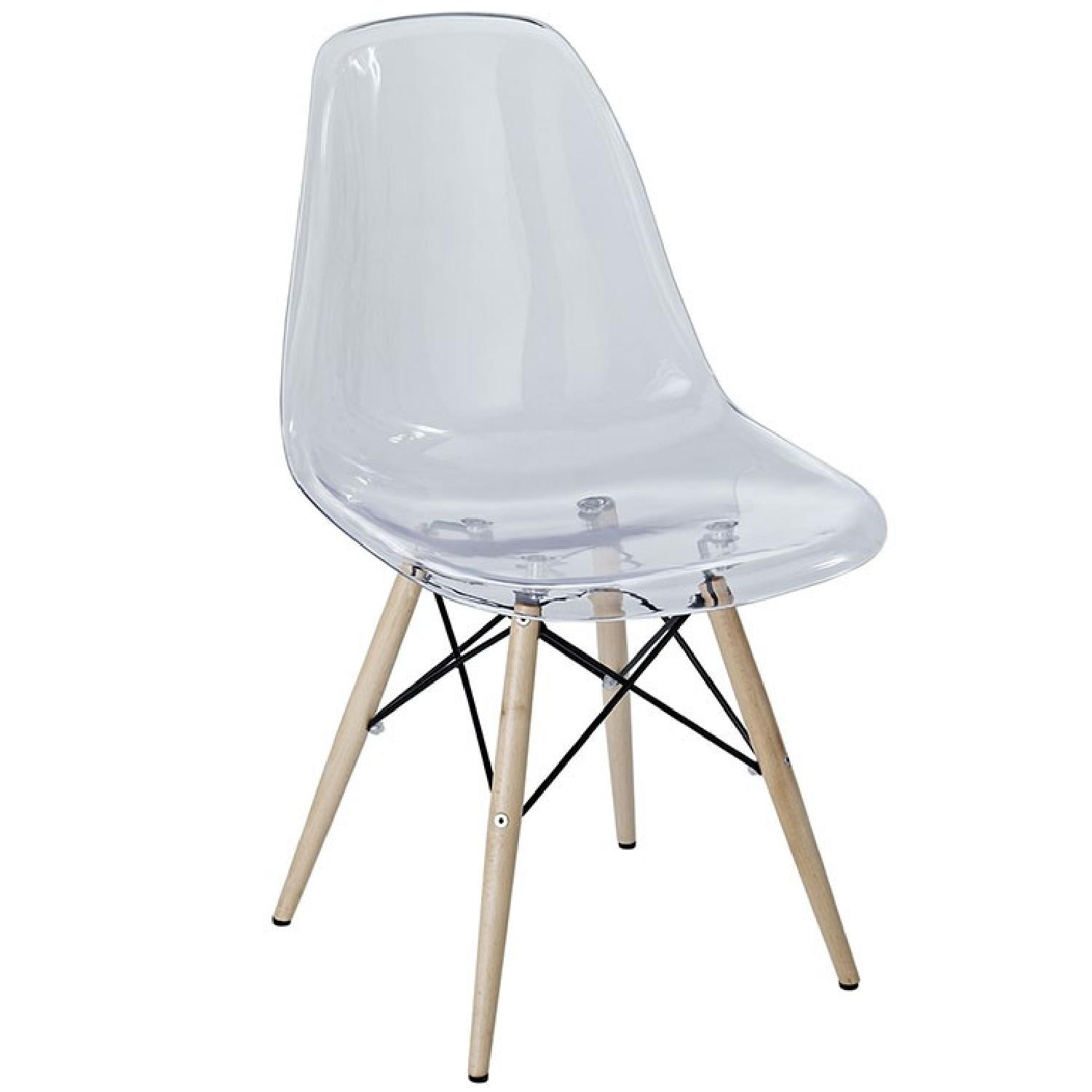 Pyro Dining Side Chair in Clear