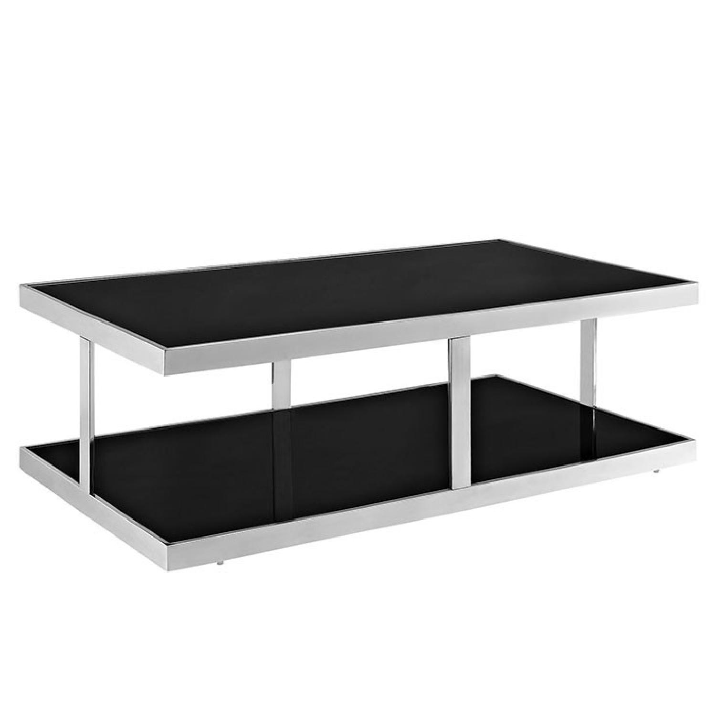 Piano Black Coffee Table
