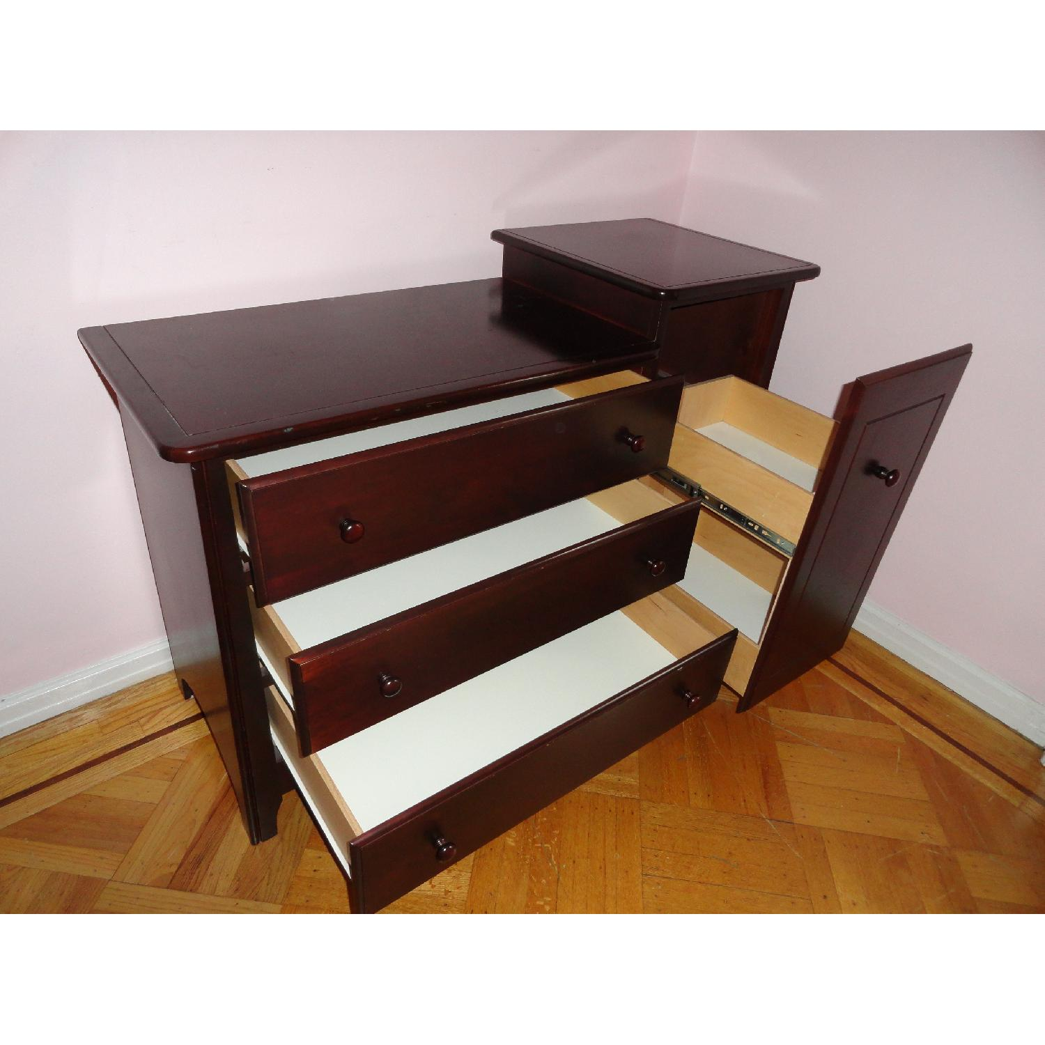 Ragazzi 4 Drawer Mahogany Changing Table - image-4