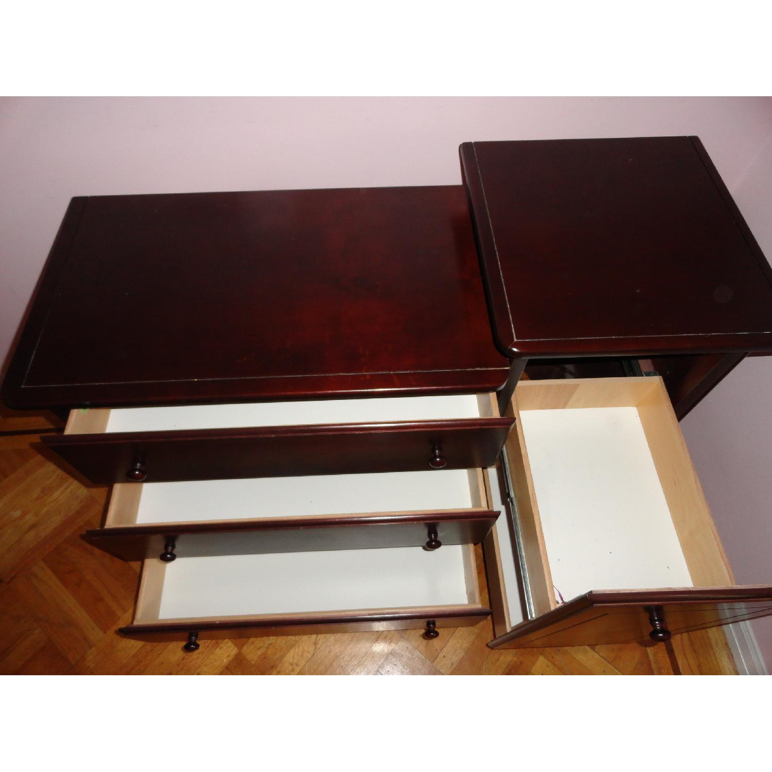 Ragazzi 4 Drawer Mahogany Changing Table - image-5