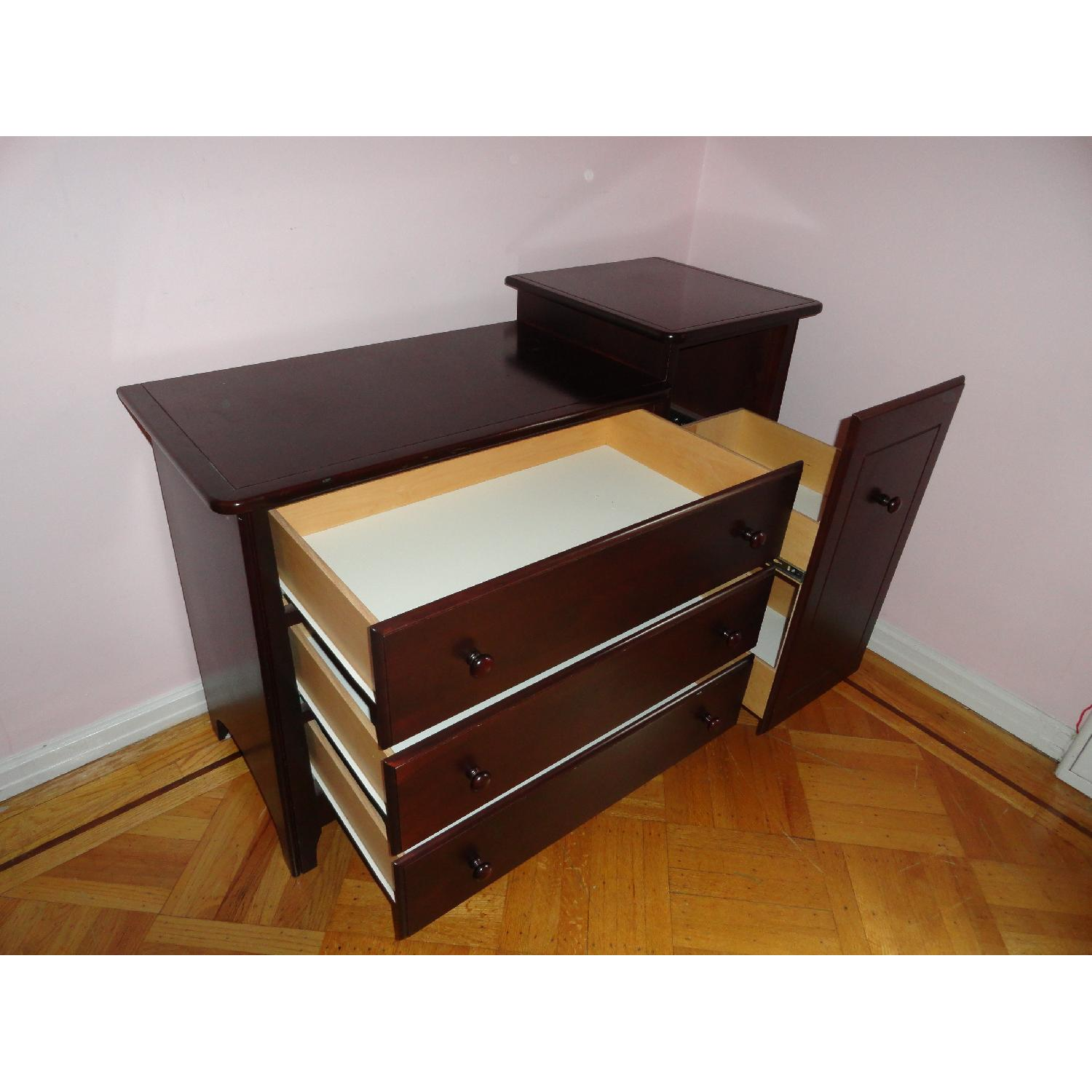 Ragazzi 4 Drawer Mahogany Changing Table - image-6