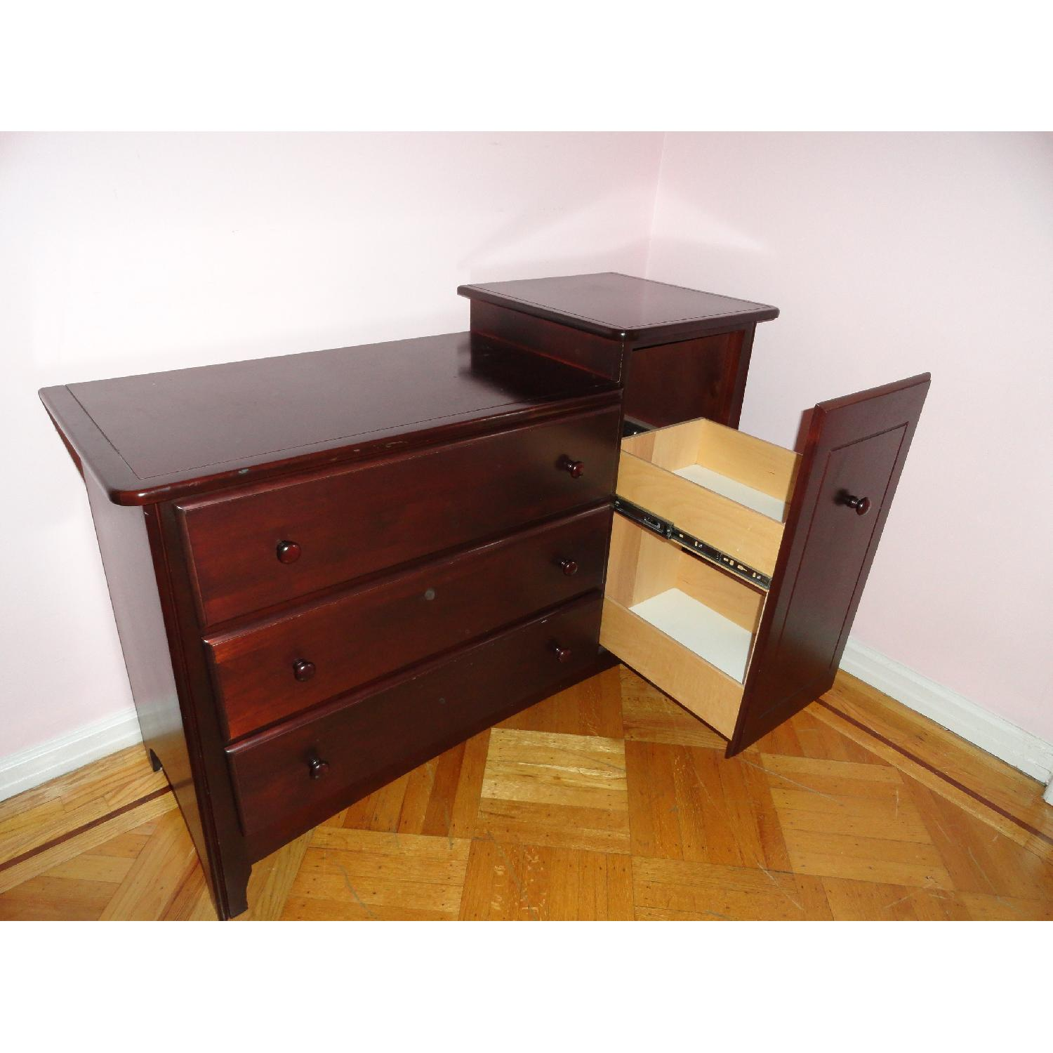 Ragazzi 4 Drawer Mahogany Changing Table - image-7