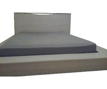 Wayfair White Queen Platform Bed