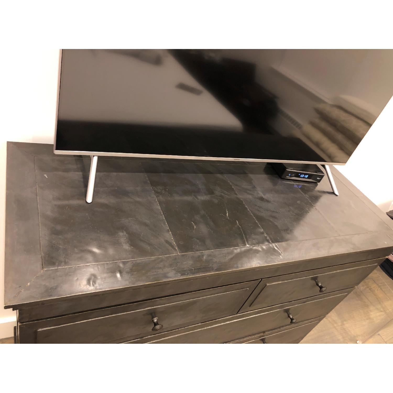 Restoration Hardware Annecy Metal-Wrapped 5-Drawer Dresser-3