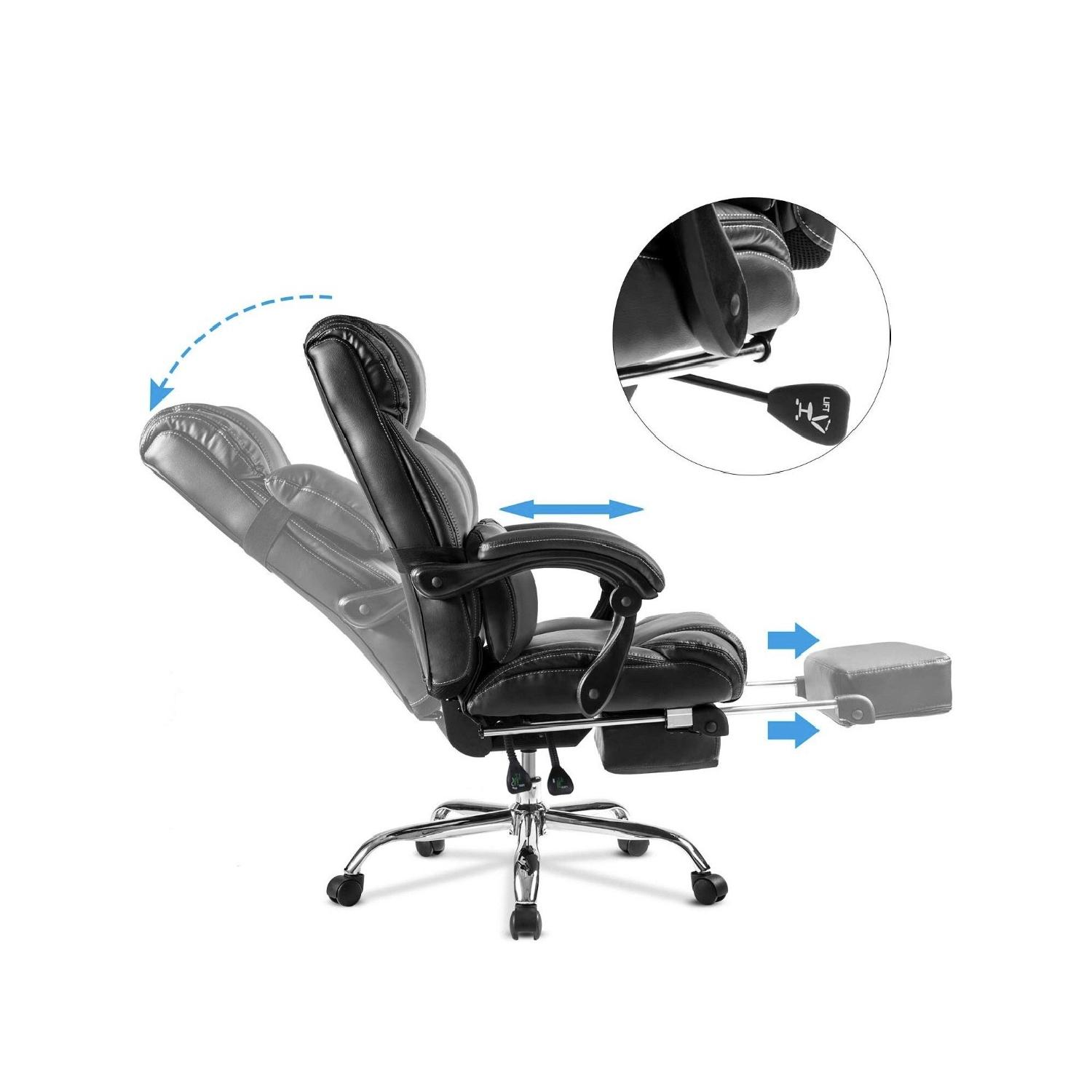 Merax Reclining Office/Gaming Chair-2