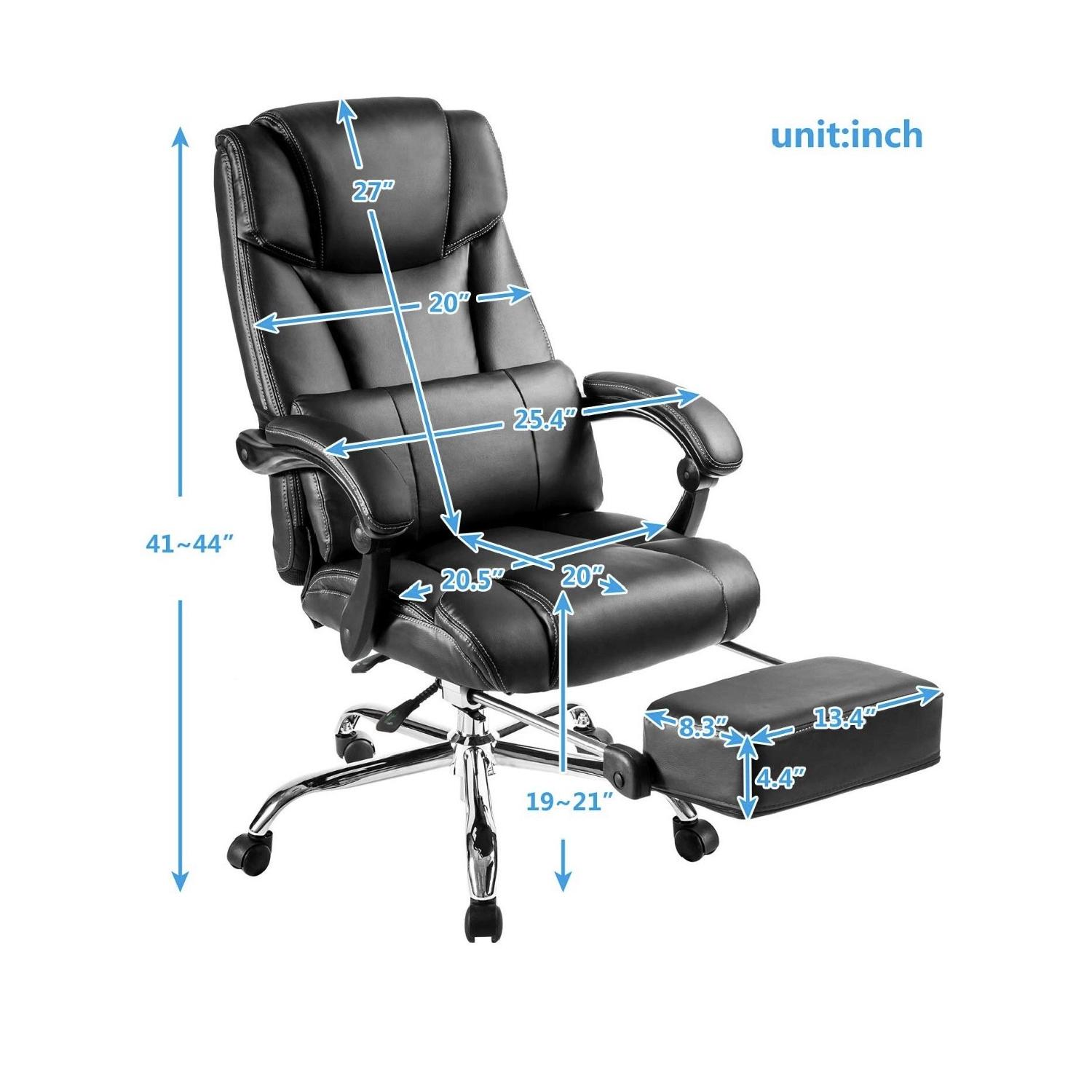 Merax Reclining Office/Gaming Chair-3