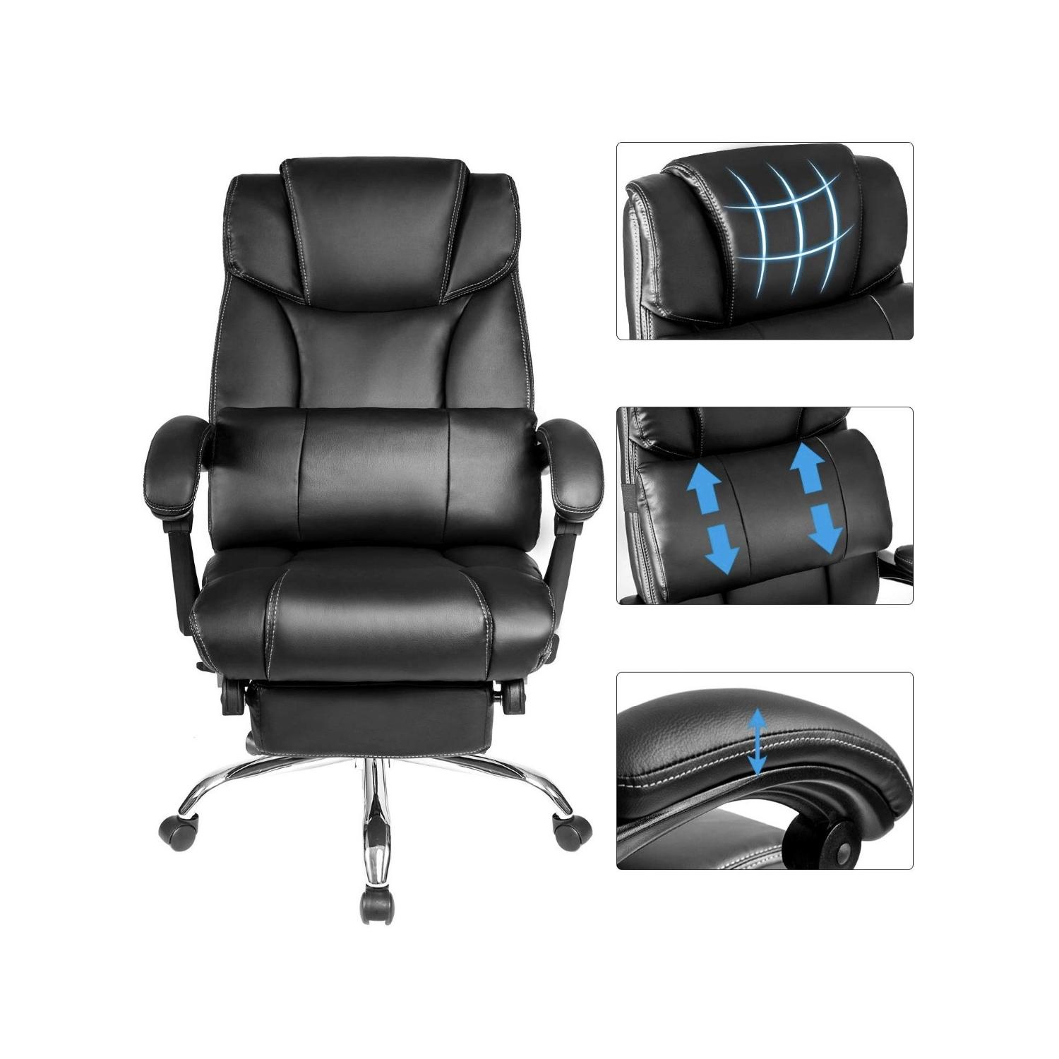 Merax Reclining Office/Gaming Chair-6