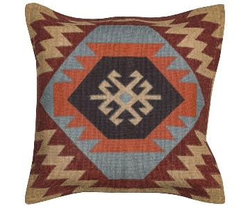 Rizzy Home Arden Loft Patterned Pillow