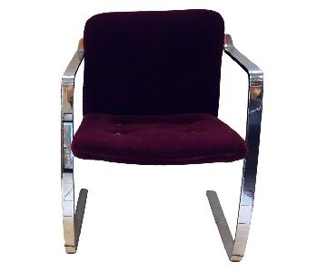 Cumberland Furniture Vintage Cantilever Modern Dining Chairs