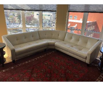 American Leather 3 Piece Sectional Sofa