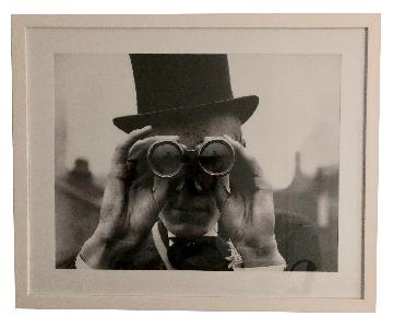 Framed Derby Spectator Photograph