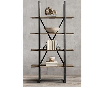 Restoration Hardware Wyatt Bookshelf