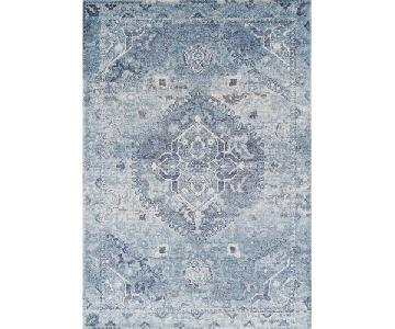 Dalyn Antigua Oriental Traditional Area Rug in Blue