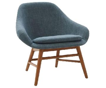 West Elm Mylo Chairs in Teal