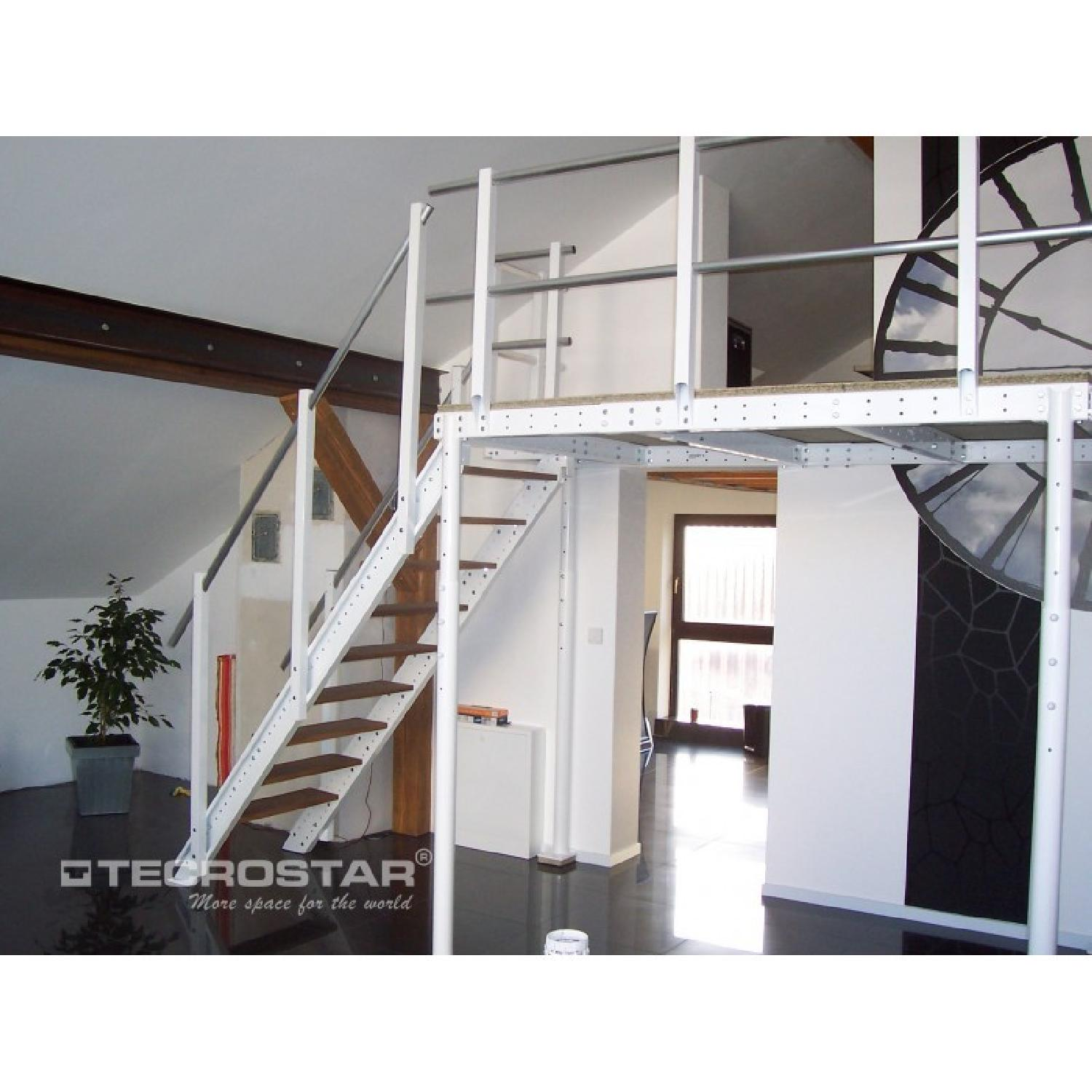 Loft Bed TS 8 w/ Lateral Stairs - image-2