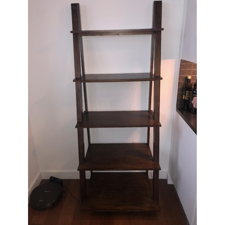 Wood Ladder Bookcase-1