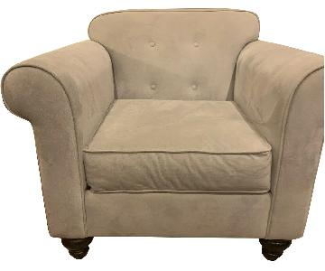 Apt2B Oversized Pico Tufted Back Chair