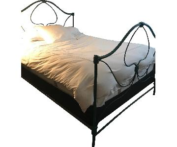 Anthropologie Iron Bed Frame