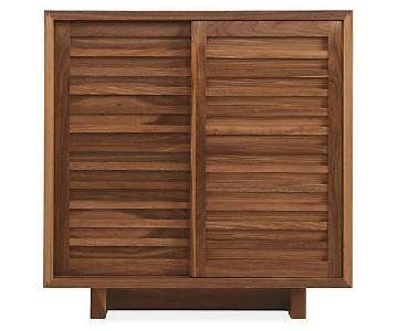 Room & Board Moro Storage Cabinet in Walnut