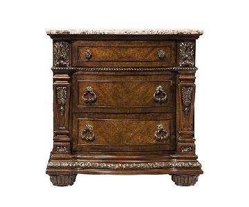 Raymour & Flanigan Wilshire Cherry Bedside Table