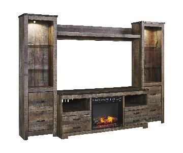Ashley Trinell Entertainment Unit w/ Fireplace