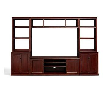 Pottery Barn Logan Media Suite w/ Bridge