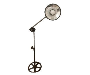 Vintage Industrial Iron LampIron Base Floor Lamps