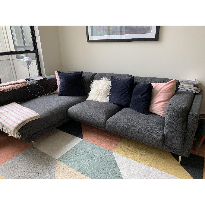 Ikea Nockeby L-Shape Sectional Sofa