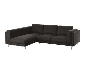 Ikea Nockeby L-Shape Sectional Sofa