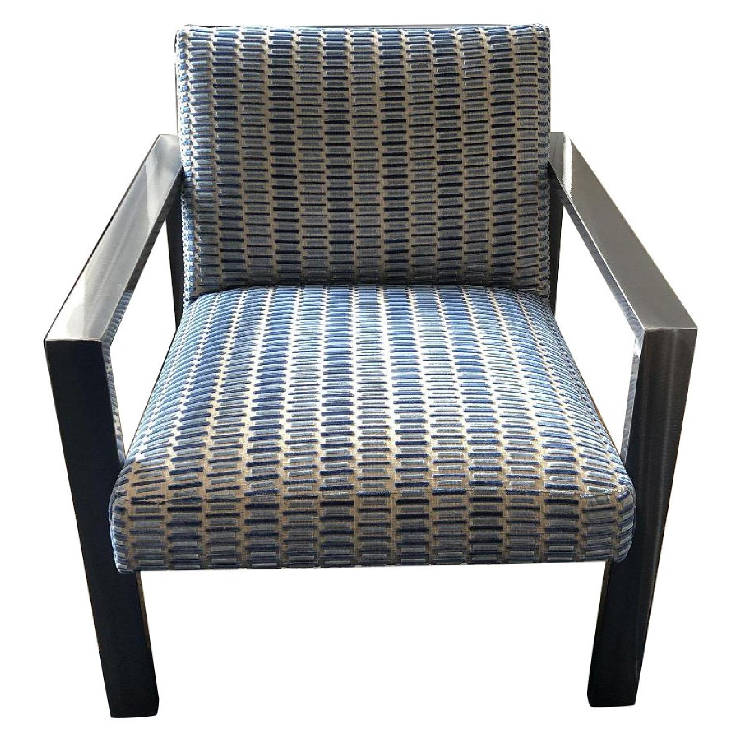 ABC Carpet and Home Upholstered Club Chairs