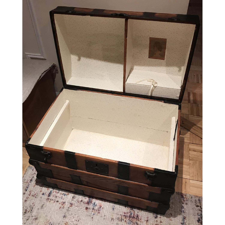 Antique Wooden Trunk-1