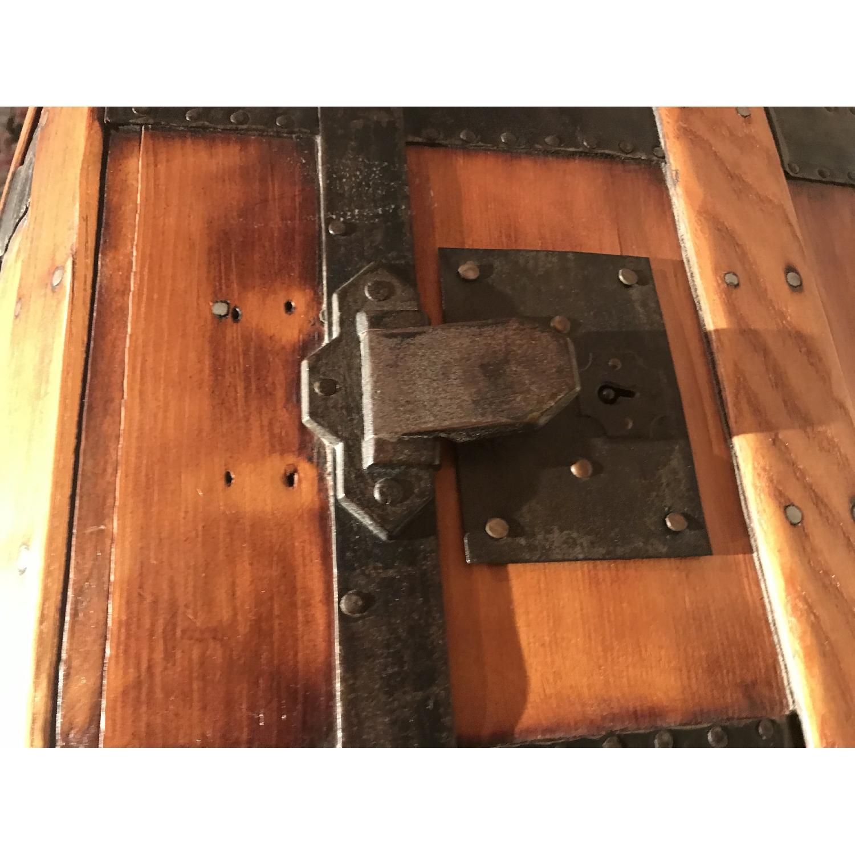 Antique Wooden Trunk-5