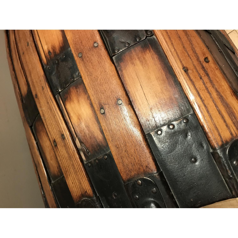 Antique Wooden Trunk-6