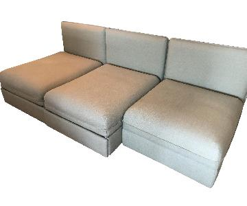 Ikea Sleeper Sectional Sofa w/ Storage