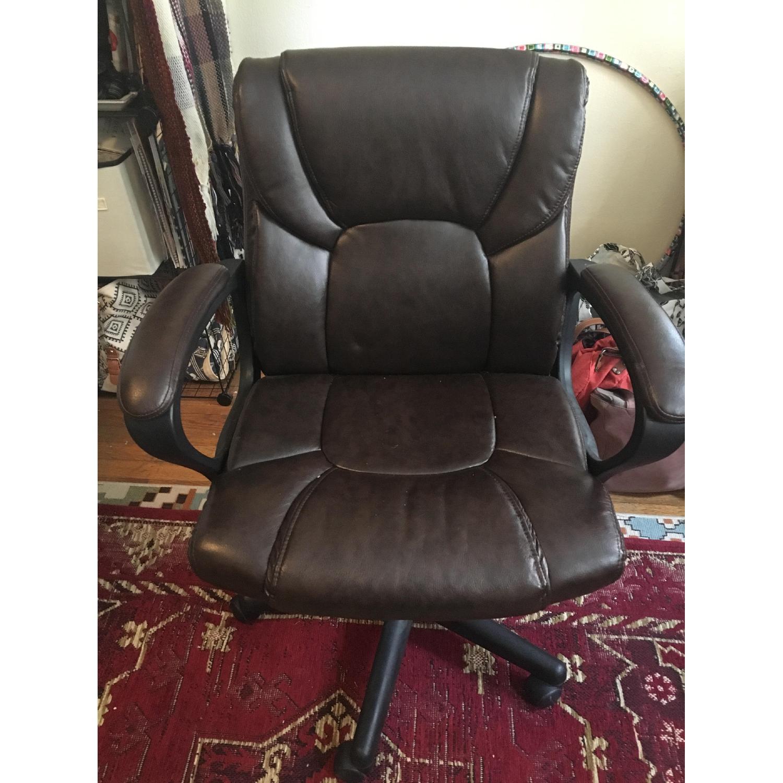 Staples Montessa II Leather Office Chair-0
