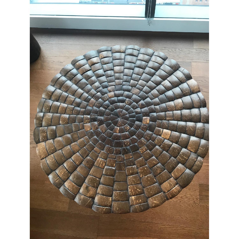 Kreiss Shelled Coconut End Table-0