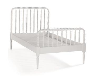 Crate & Barrel Land of Nod Jenny Lind White Twin Bed