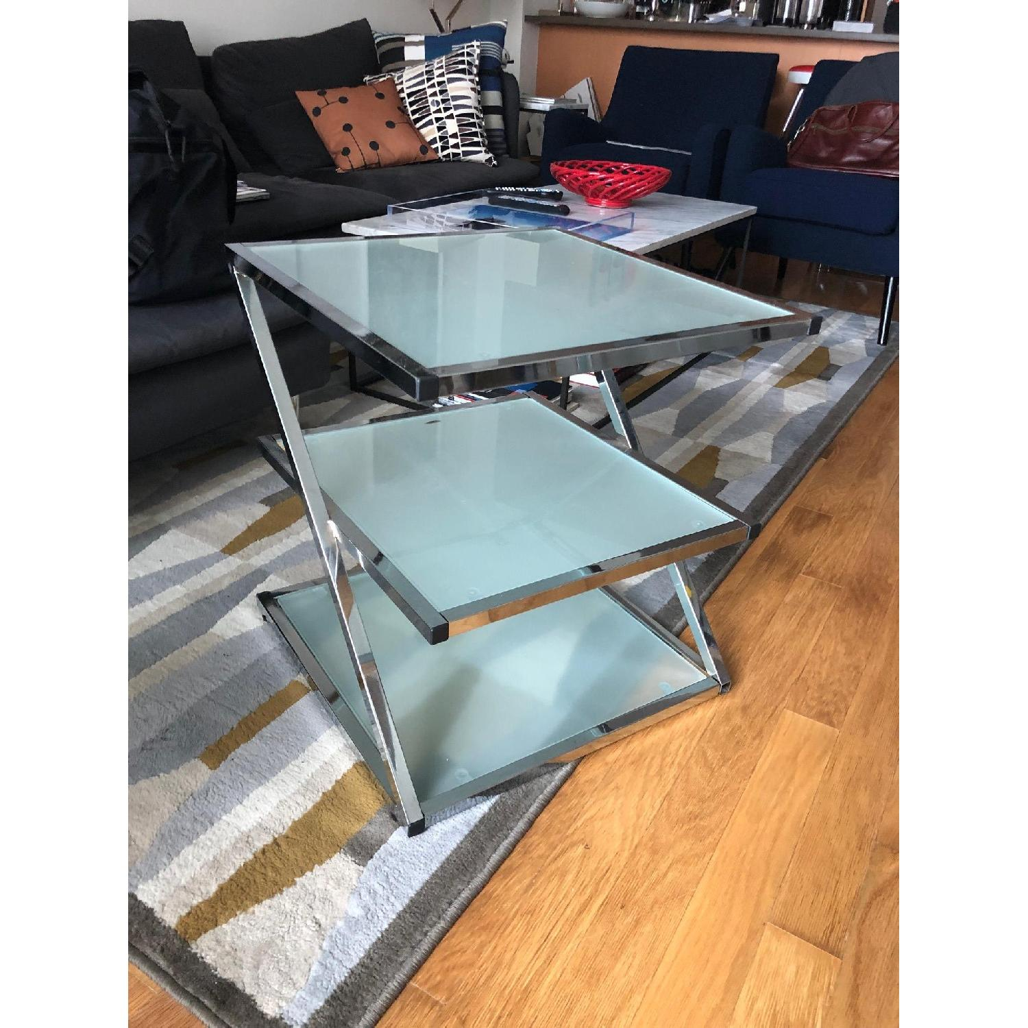 Glass Side Table-0